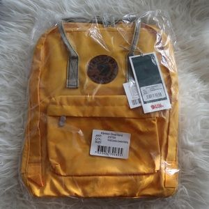 Kanken Greenland Backpack in Yellow